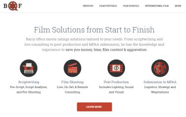 Barry Freeman Website